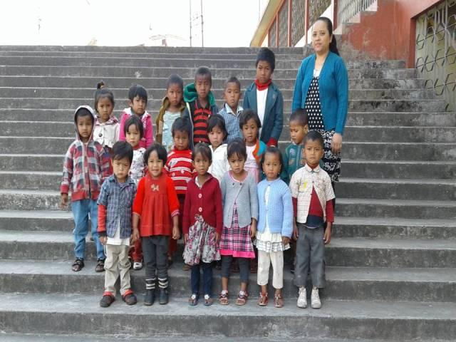 Projektpatenschaft Rachitis Shilong Schüler 5