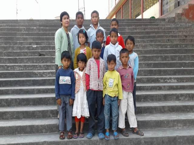 Projektpatenschaft Rachitis Shilong Schüler 6