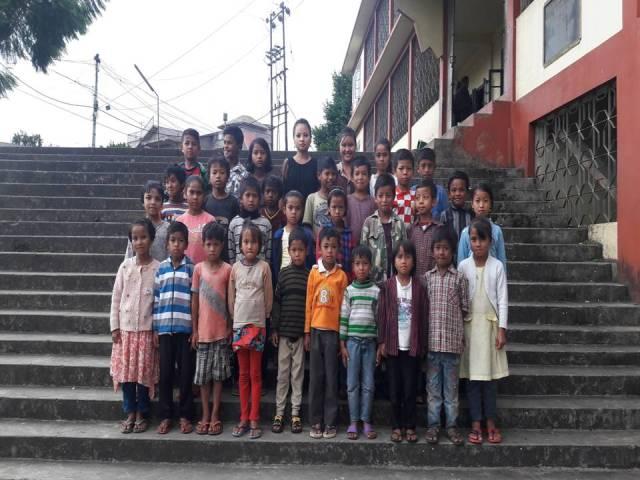 Projektpatenschaft Rachitis Shilong Schüler 8