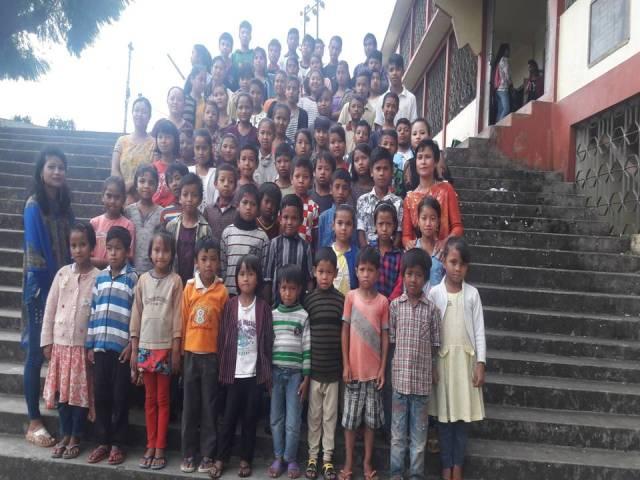 Projektpatenschaft Rachitis Shilong Schüler 9