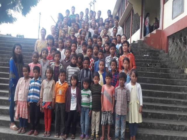 Projektpatenschaft Rachitis Shilong Schulkinder 1