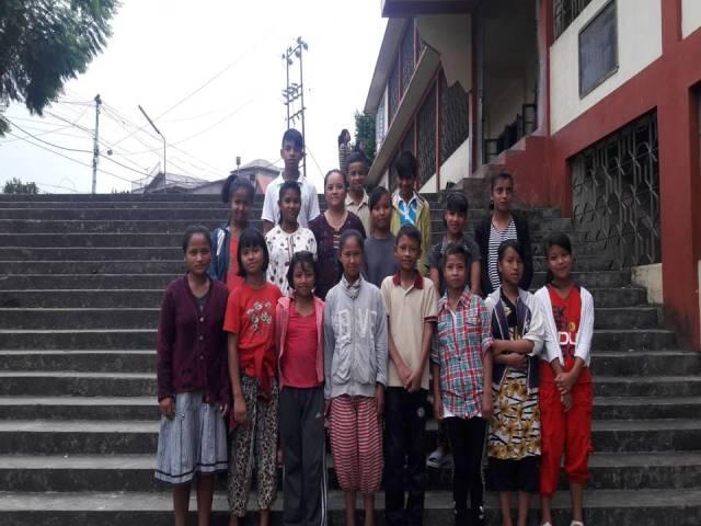 Projektpatenschaft Rachitis Shilong Schulkinder 3