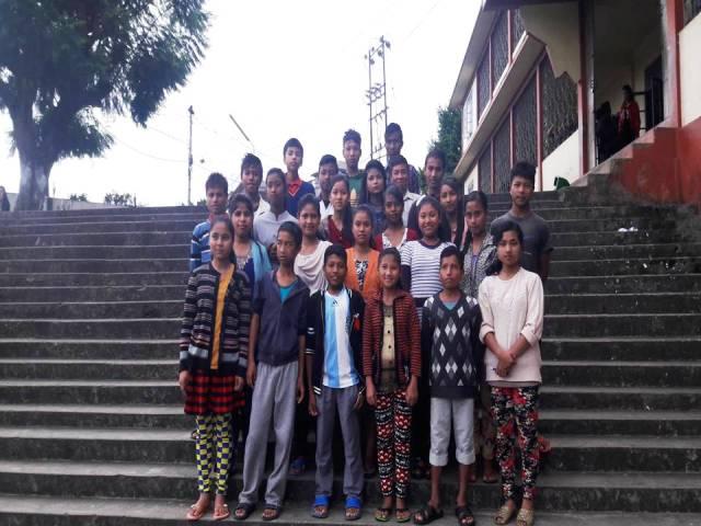 Projektpatenschaft Rachitis Shilong Schulkinder 4
