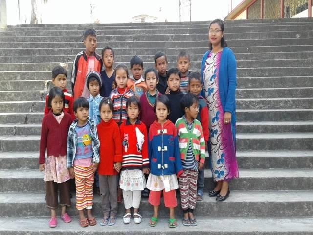 Projektpatenschaft Rachitis Shilong Schulkinder 7