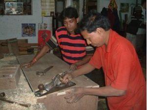 2007 Reisebericht Indien - 06 Schreiner