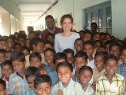 2007 Reisebericht Indien - 07 Gruppenbild Kinder