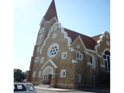2015 Reisebericht Namibia 02 Christuskirche
