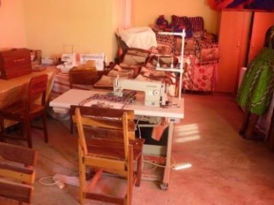 2015 Reisebericht Namibia 12 Nähschule