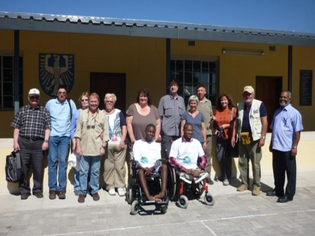2015 Reisebericht Namibia 33 Gruppenbild