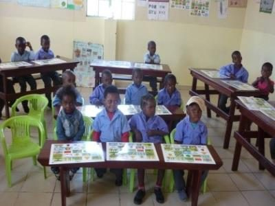 2015 Reisebericht Namibia 34 Schulkinder