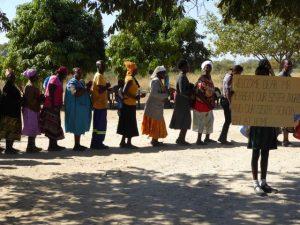2016 Reisebericht Namibia - Empfang 1