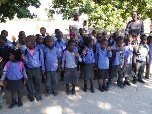 2016 Reisebericht Namibia - Empfang 3