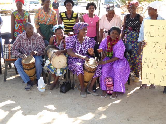 2016 Reisebericht Namibia - Empfang 4