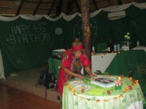 2016 Reisebericht Namibia - Geburtstag Ingrid