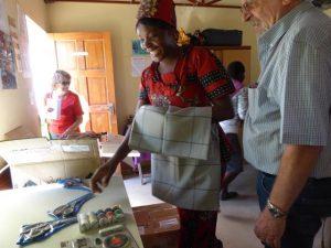 2016 Reisebericht Namibia - Nähstube Rundu 1