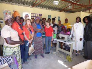 2016 Reisebericht Namibia - Nähstube Rundu 2