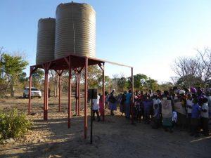 2016 Reisebericht Namibia - Sambyu Wassertank
