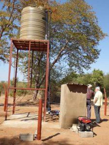 2016 Reisebericht Namibia - Wasserbehälter