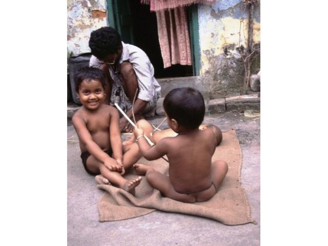Kalkutta Patenschaft Kinder Leben im Slum3