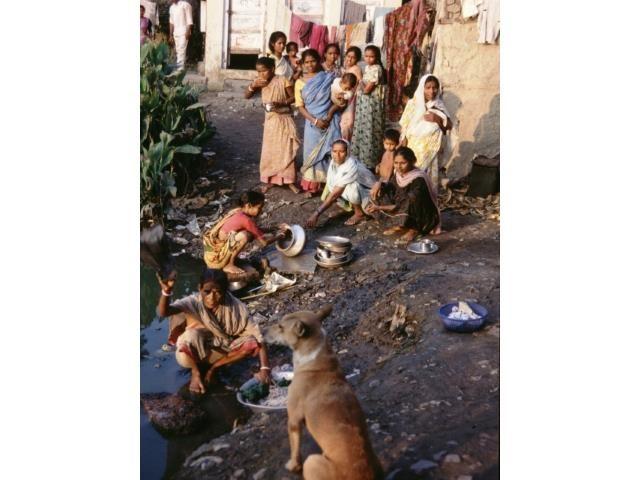 Kalkutta Patenschaft Kinder Leben im Slum4