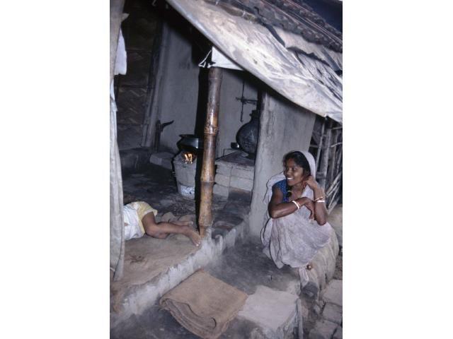 Kalkutta Patenschaft Kinder Slumhütte