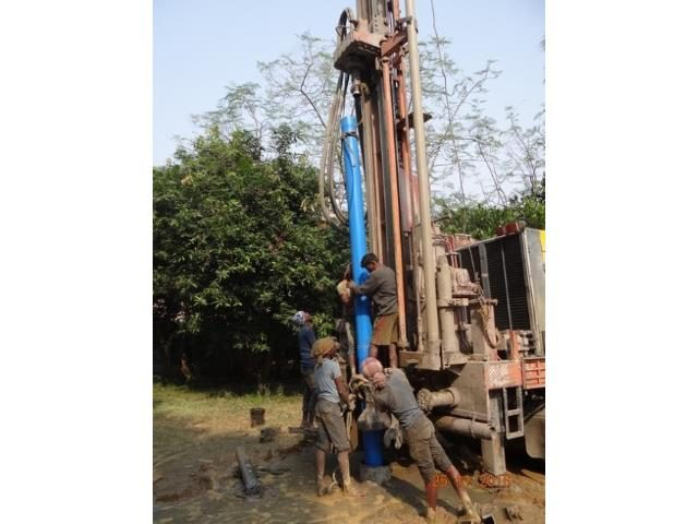 Kinderpatenschaft Joypur Brunnenbau