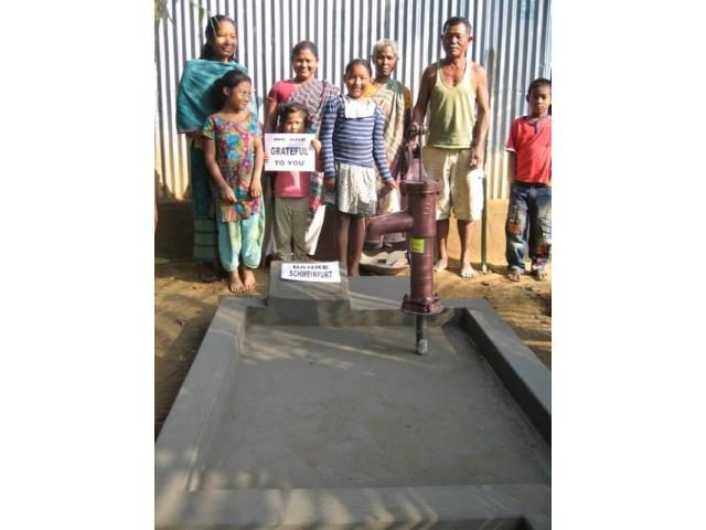 Kinderpatenschaft Utrail Brunnenbau
