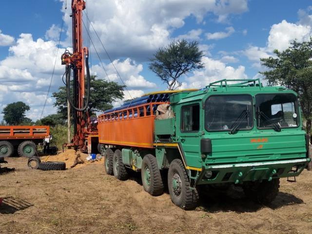 Projekt Brunnenbau Namibia - Bohrung 1