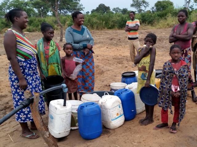 Projekt Brunnenbau Namibia - Wasserverteilung 4
