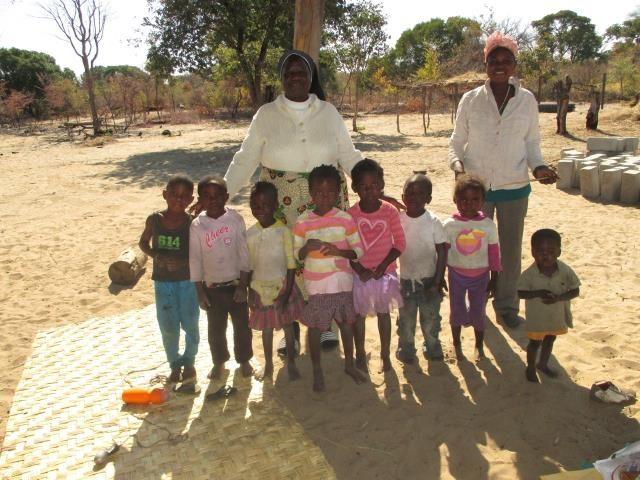 Projekt Kindergartenbau Namibia - Kindergarten Kinder