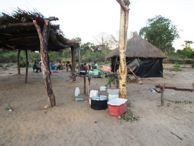 Projekt Kindergartenbau Namibia - Sambyu Dorfplatz