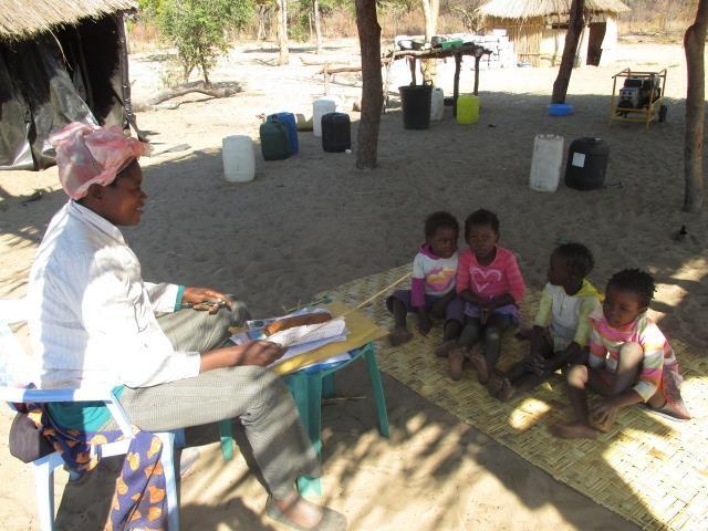 Projekt Kindergartenbau Namibia - ehemaliger Kindergarten