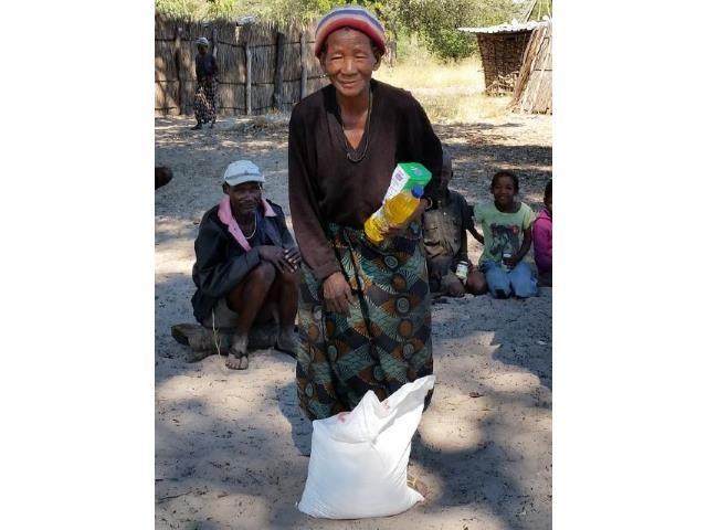 Sonderhilfe Dürrekatastrophe Namibia - Dürre Hilfe Frau 3