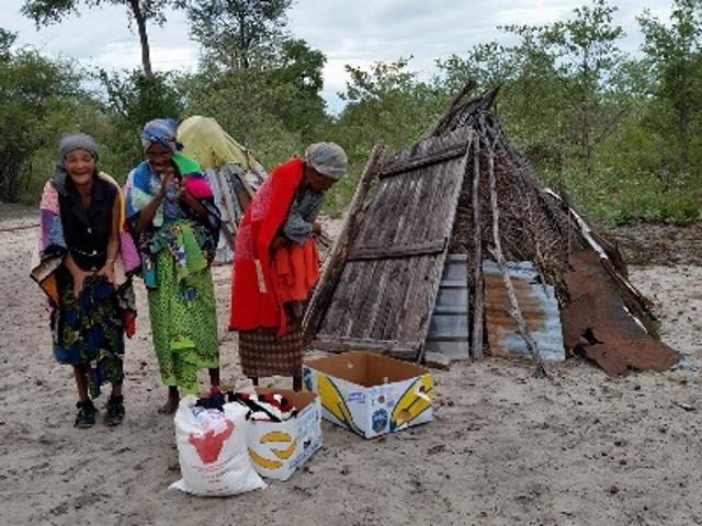 Sonderhilfe Dürrekatastrophe Namibia - Dürre Hilfe Gruppe 1