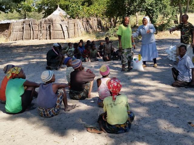 Sonderhilfe Dürrekatastrophe Namibia - Dürre Hilfe Gruppe 2